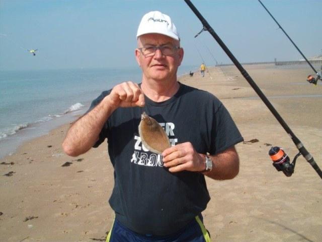Vissen op het Nollestrand