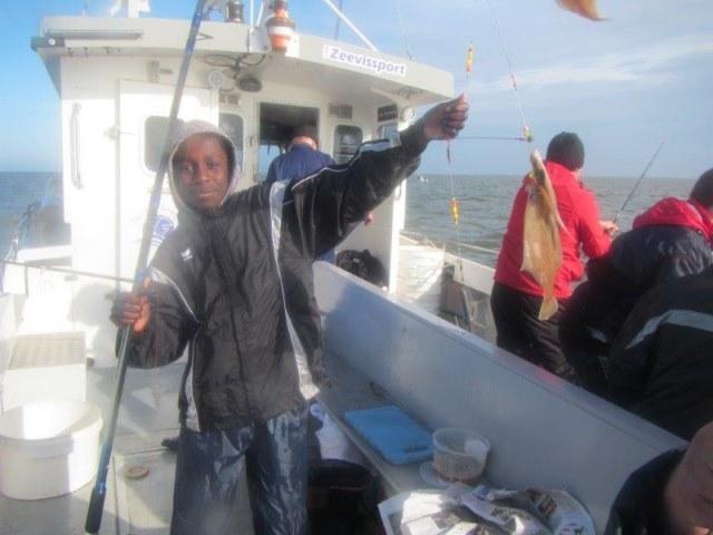 Alain Tulleneers met De Big Marlin