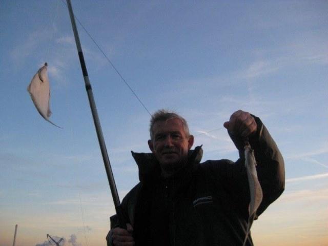 Op bot vissen in de Waterweg, Henry en Jack