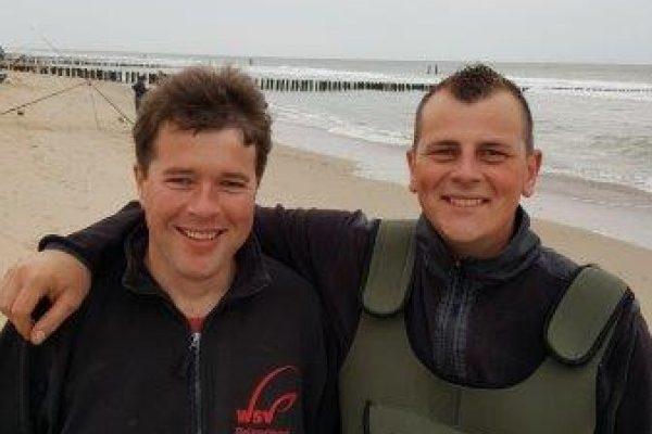 Joost en Richard, koppelwedstrijd Domburg