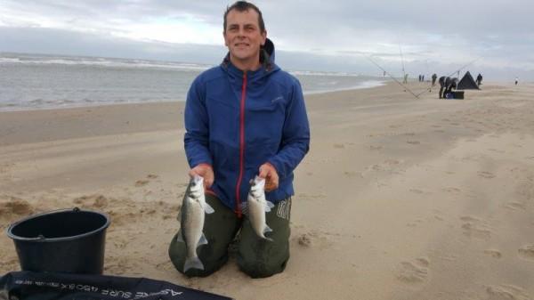 Joost, PKC vissen aan Noordwijk