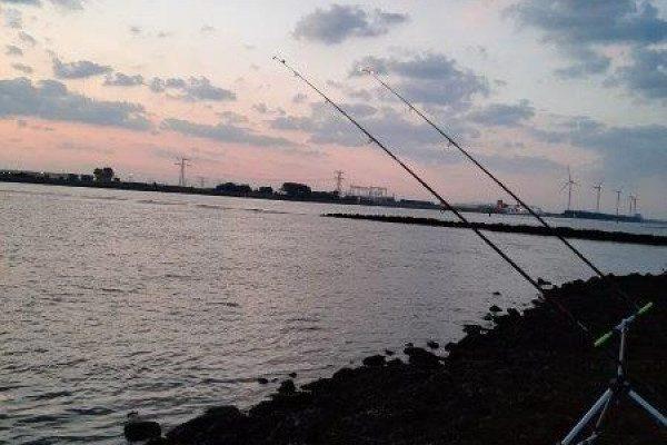 Vissen aan de Waterweg, Patje en Pietje