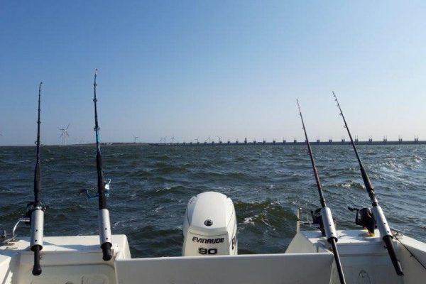 Tom en Niels, vissen voor de keerring