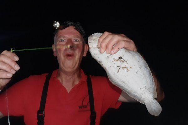 Eldert en Dennis, vissen op tong