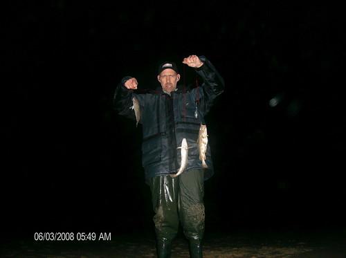 Vissen aan het Nollestrand