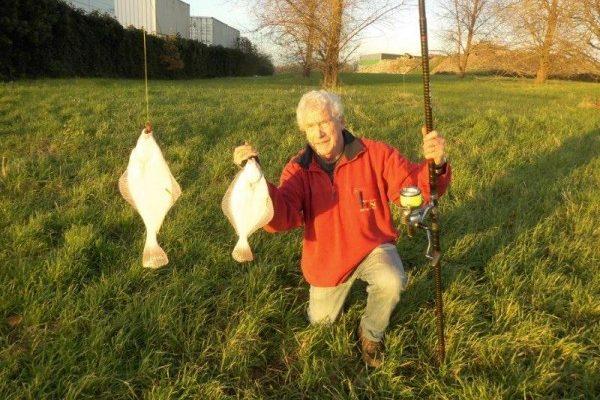 Jack en Henry, plezier en vis aan de Waterweg