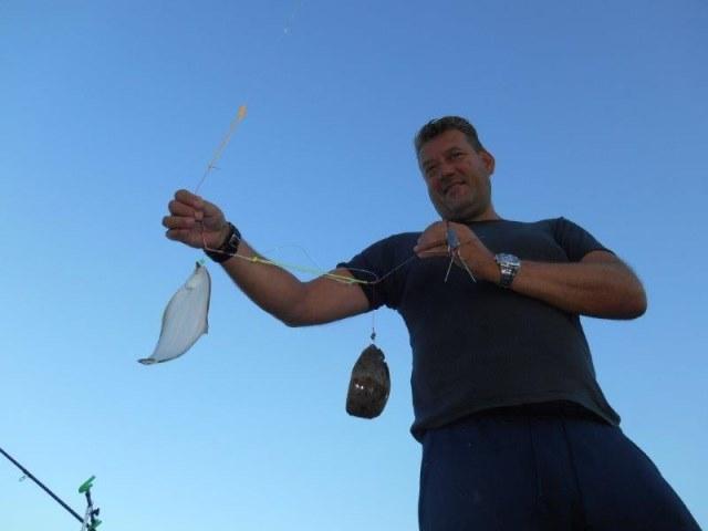 Vissen in de Botlek met Henk