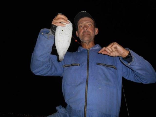 Vissen in de Waterweg met Huib