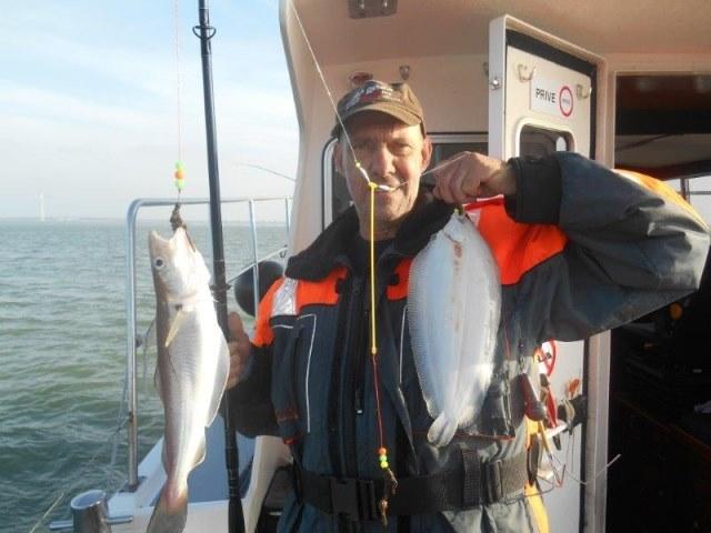 Vissen vanuit Colijnsplaat met Rover-seafishing