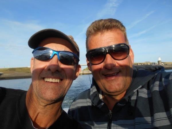 Kick-of bootvissen 2015, met Henk Rooiimans
