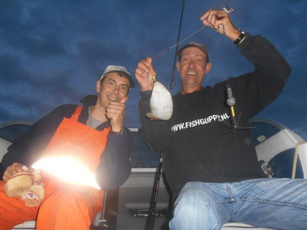 Met Frank op de Tong in de Voor-delta
