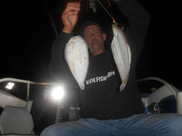 Solo op tong vissen in de Voordelta