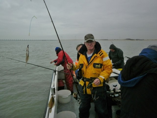 De dinsdagploeg met De Big Marlin