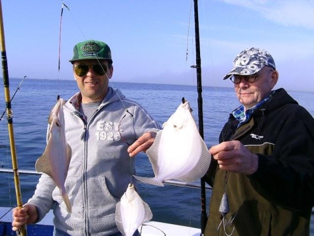 Schol vissen Nieuwpoort