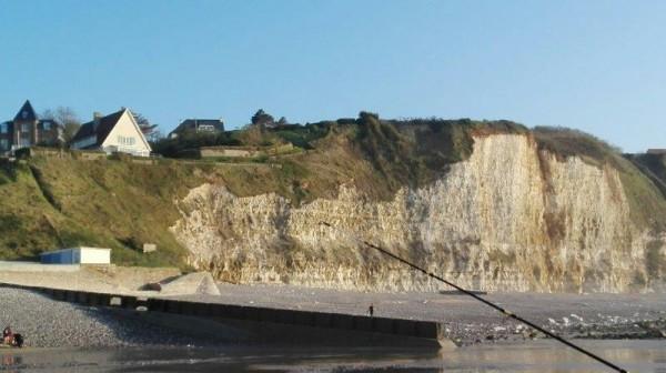 Eldert, vissen in Normandië