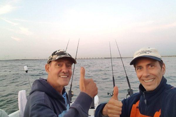 Vissen op tong, in de Voor-delta