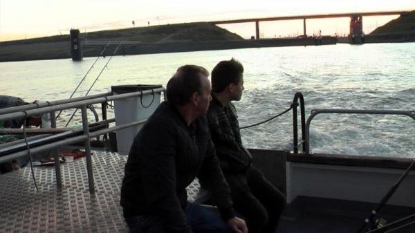 Bootvissen vanuit Neeltje jans
