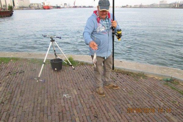 Henk en Theo vissen weer