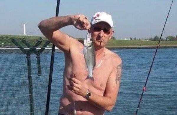 Leen, vissen aan de Waterweg