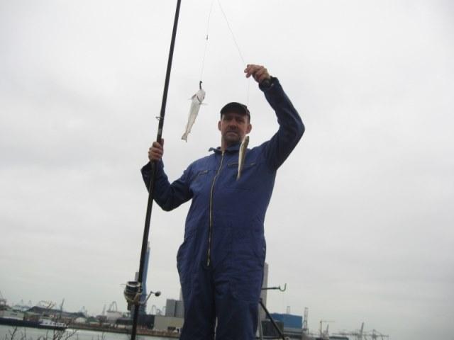 Vissen Missisippi haven Europoort