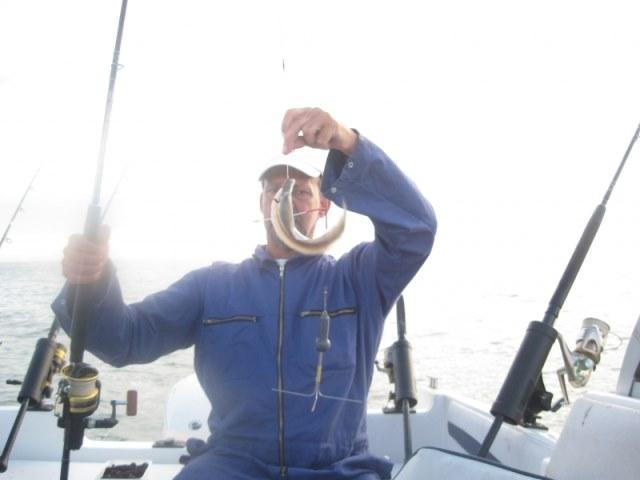 Voor het eerst weer vissen