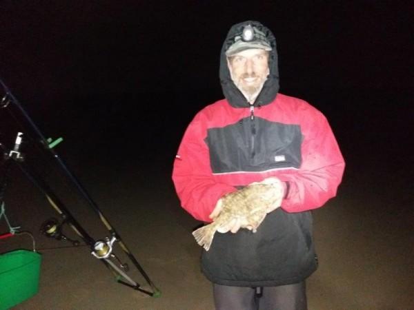 Jack en Mario, strandvissen Domburg