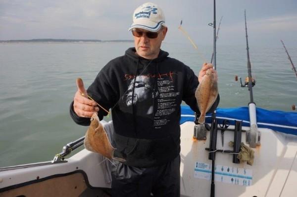 Lucky Luc en Jurgen, massa vis in de Voordelta