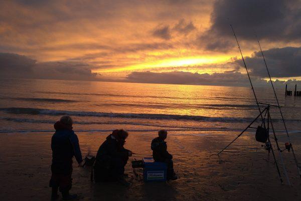 Bredt(Jongste schrijver ooit), strandvisserij