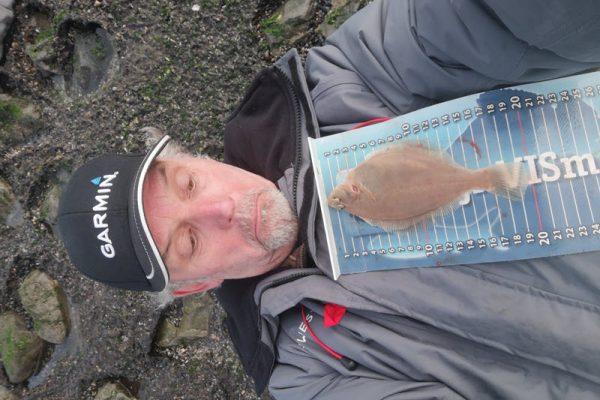 Kees Langeland, Vissen aan Westkapelle