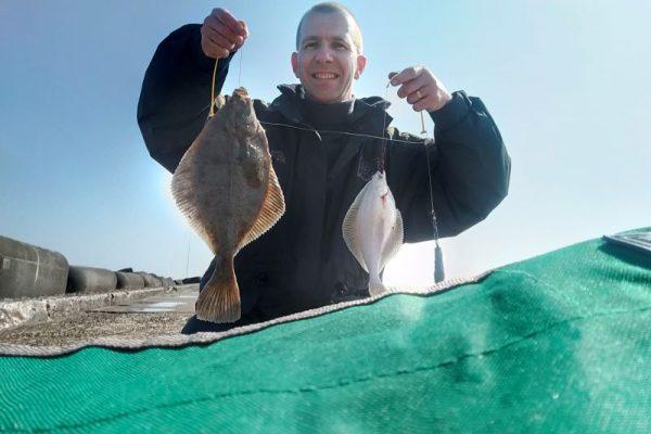 Stefan, vangstverslag Noordpier
