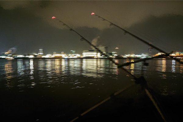 Peter, vissen aan de waterweg