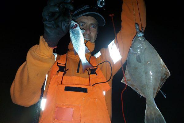 Samen met Frank, vissen aan de Waterweg