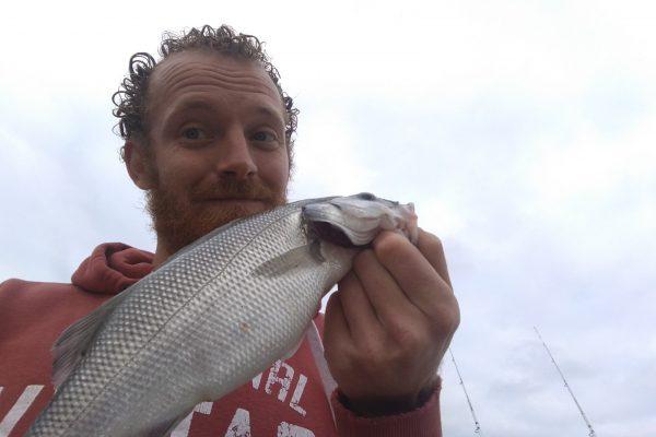 Jeff, vissen in Zeeland